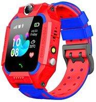 Детский GPS часы-телефон GOGPS ME K24 Красный