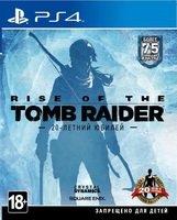 Игра Rise of the Tomb Raider (PS4, Русская версия)
