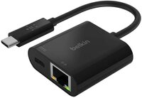 Адаптер Belkin USB-C - Ethernet 60W PD Black
