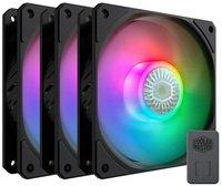 Набір корпусних вентиляторів Cooler Master SickleFlow 120 3in1 ARGB Sync+Wired ARGB Controller