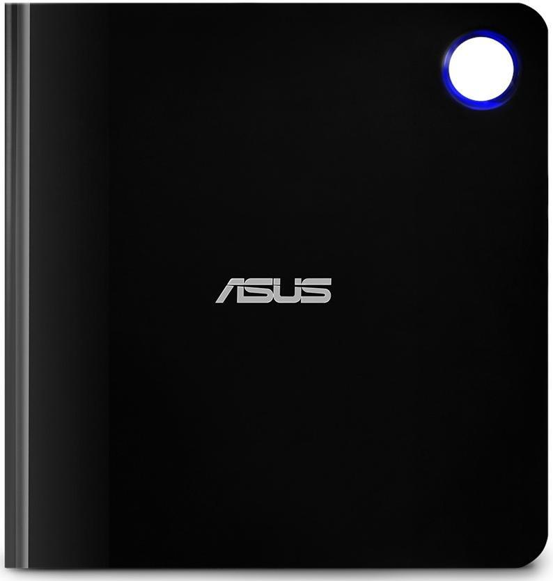 Зовнішній оптичний привід ASUS SBW-06D5H-U Blu-ray Writer USB3.1 Type-C/A EXT Ret Slim Black фото1