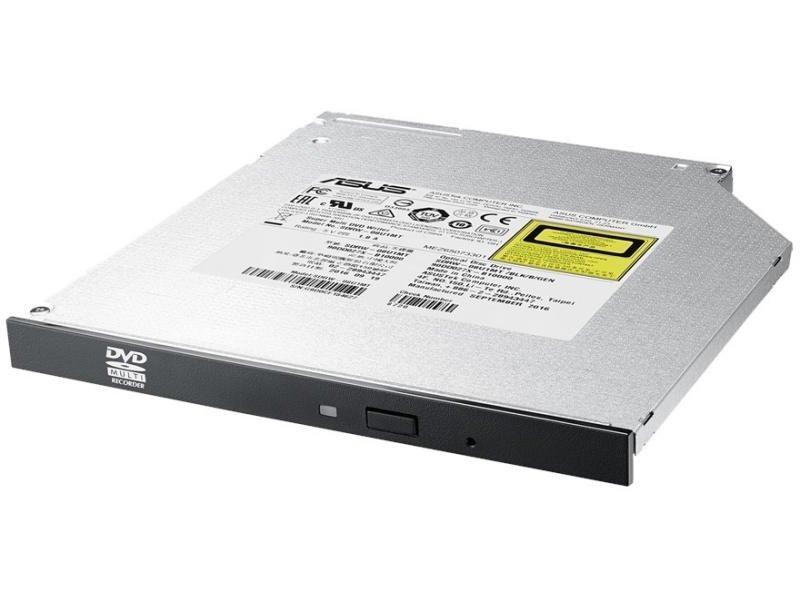 Зовнішній оптичний привід ASUS SDRW-08U1MT DVD+-R/RW USB2.0 INT Slim Silver Black фото1