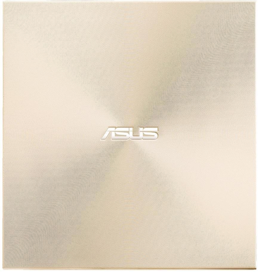Внешний оптический привод ASUS ZenDrive SDRW-08U9M-U DVD + -R / RW USB2.0 EXT Ret Ultra Slim GOLD фото