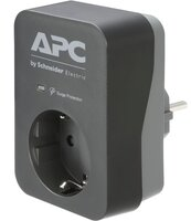 Сетевой фильтр APC Essential SurgeArrest 1 Outlet 230V, Black