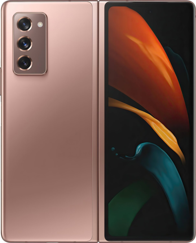 Смартфон Samsung Galaxy Z Fold2 Bronze фото 1