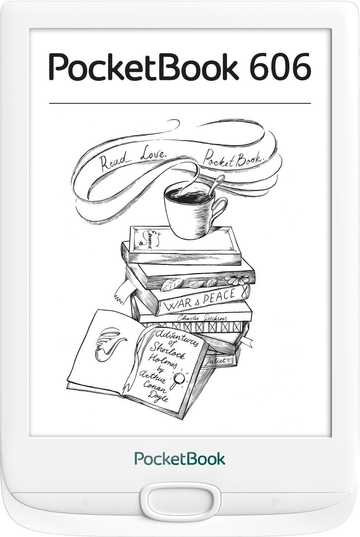 Електронна книга PocketBook 606 White фото1
