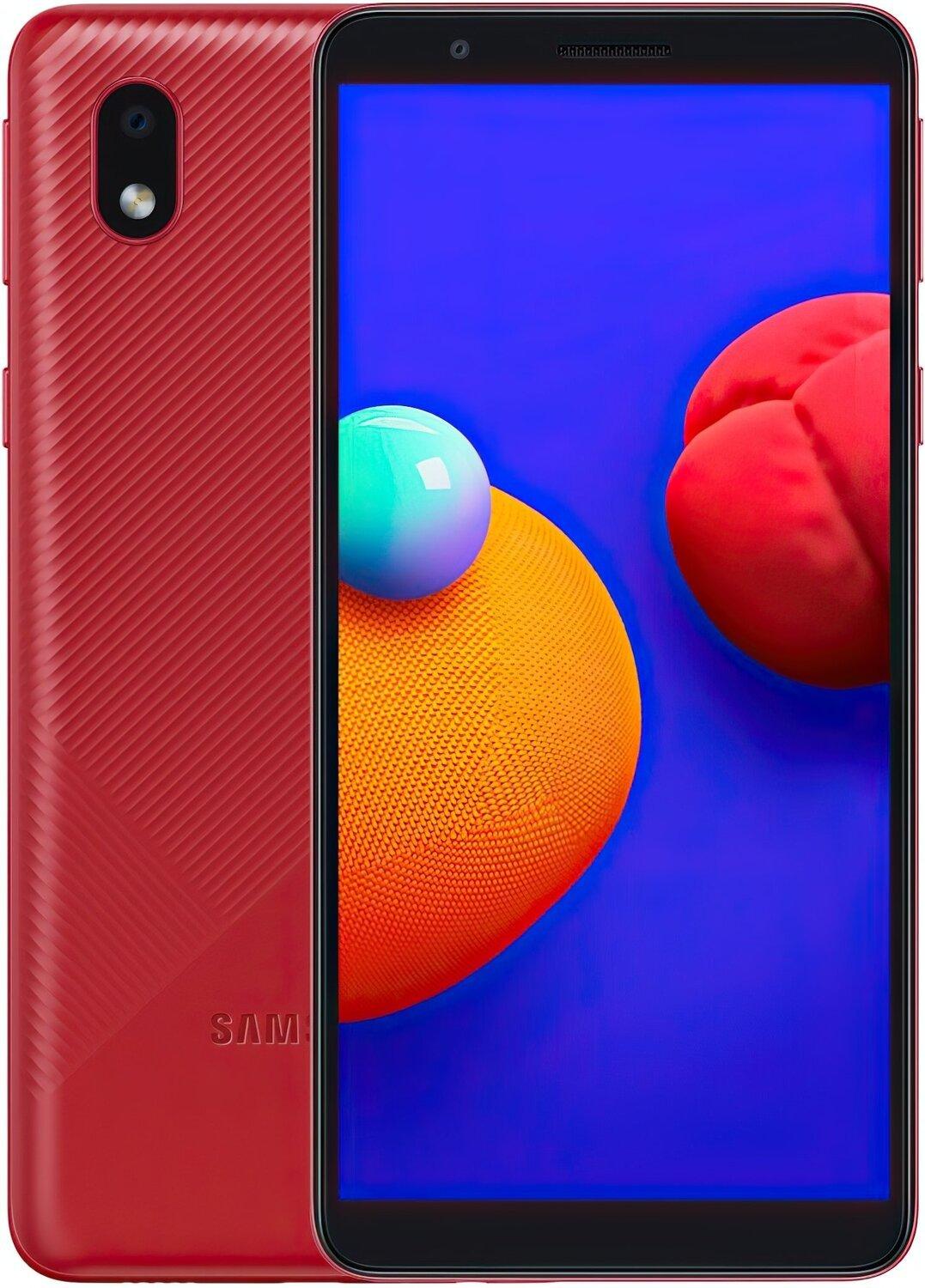 Смартфон Samsung Galaxy A01 Core (A013F) 1 / 16GB Dual SIM Red фото