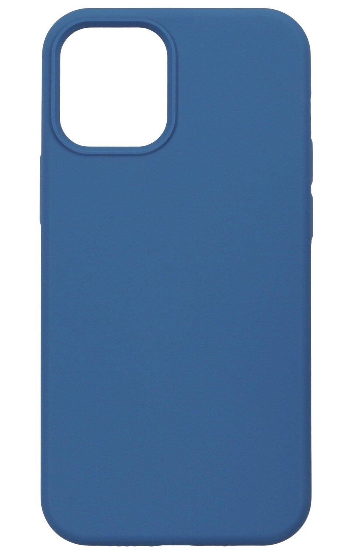 Чехол 2Е для iPhone 12 mini Liquid Silicone Cobalt Blue (2E-IPH-12-OCLS-CB) фото