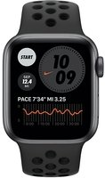 Смарт-часы Apple Watch Nike SE GPS 40mm Space Gray Aluminium Case with Anthracite/Black Nike Sport Band Regular