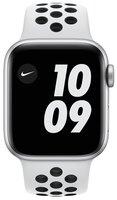 Смарт-часы Apple Watch Nike Series 6 GPS 40mm Silver Aluminium Case with Pure Platinum/Black Nike Sport Band Regular