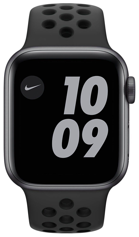 Смарт-годинник Apple Watch Nike Series 6 GPS 40mm Space Gray Aluminium Case with Anthracite/Black Nike Sport Band Regular фото