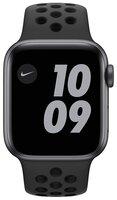 Смарт-годинник Apple Watch Nike Series 6 GPS 40mm Space Gray Aluminium Case with Anthracite/Black Nike Sport Band Regular