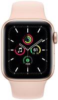 Смарт-часы Apple Watch SE GPS 40mm Gold Aluminium Case with Pink Sand Sport Band Regular