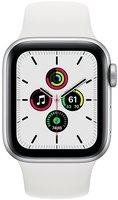 Смарт-часы Apple Watch SE GPS 40mm Silver Aluminium Case with White Sport Band Regular