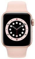 Смарт-годинник Apple Watch Series 6 GPS 40mm Gold Aluminium Case with Pink Sand Sport Band Regular