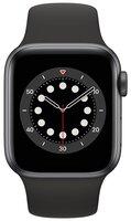Смарт-годинник Apple Watch Series 6 GPS 40mm Space Gray Aluminium Case with Black Sport Band Regular