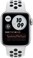 Смарт-годинник Apple Watch Nike SE GPS 44mm Silver Aluminium Case with Pure Platinum/Black Nike Sport Band Regular