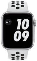 Смарт-годинник Apple Watch Nike Series 6 GPS 44mm Silver Aluminium Case with Pure Platinum/Black Nike Sport Band Regular