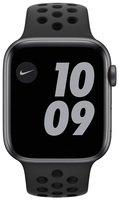 Смарт-часы Apple Watch Nike Series 6 GPS 44mm Space Gray Aluminium Case with Anthracite/Black Nike Sport Band Regular