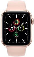 Смарт-годинник Apple Watch SE GPS 44mm Gold Aluminium Case with Pink Sand Sport Band Regular