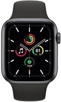 Смарт-часы Apple Watch SE GPS 44mm Space Gray Aluminium Case with Black Sport Band Regular