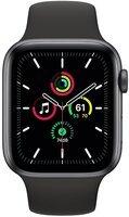 Смарт-годинник Apple Watch SE GPS 44mm Space Gray Aluminium Case with Black Sport Band Regular