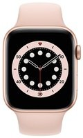 Смарт-часы Apple Watch Series 6 GPS 44mm Gold Aluminium Case with Pink Sand Sport Band Regular