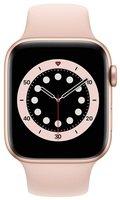 Смарт-годинник Apple Watch Series 6 GPS 44mm Gold Aluminium Case with Pink Sand Sport Band Regular