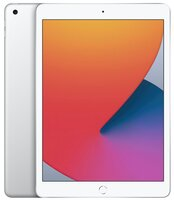"Планшет Apple iPad 10.2"" Wi-Fi 128Gb Silver (MYLE2RK/A)2020"