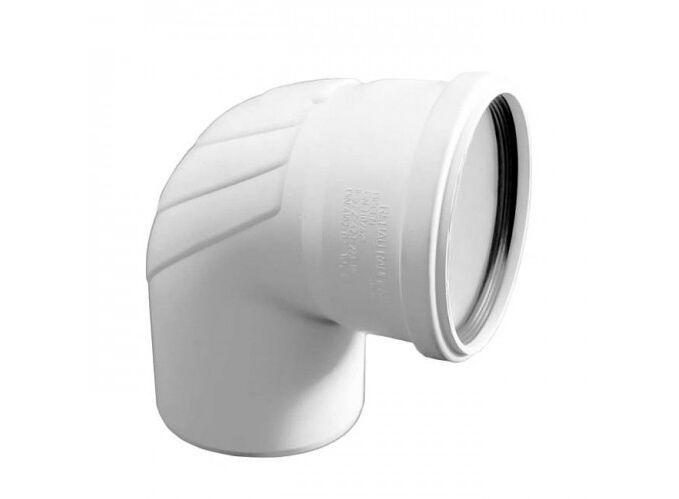 Отвод канализационный Rehau Raupiano Plus, 110-45 ° фото 1