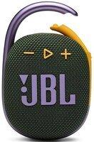 Портативная акустика JBL Clip 4 Green (JBLCLIP4GRN)