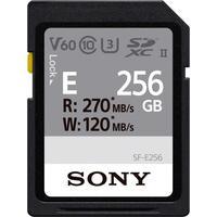 Карта памяти Sony 256GB SDXC C10 UHS-II U3 V60 R270/W120MB/s Entry