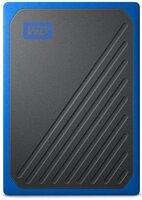 SSD накопитель WD Passport Go 2TB USB 3.0 Blue (WDBMCG0020BBT-WESN)