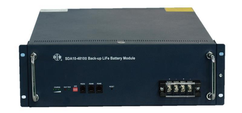 "Акумуляторна батарея SHOTO SDA10 48V/100Ah 19""LiFePo4 (SDA10-48100-15S) фото"