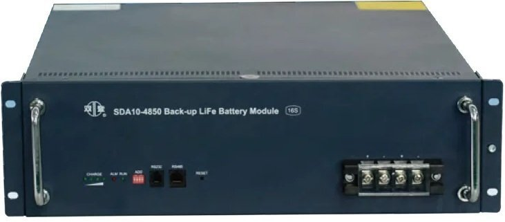Акумуляторна батарея SHOTO SDA10 48V/50Ah LiFePo4, IP65, ETR (SDA10-4850-16S-IP65) фото