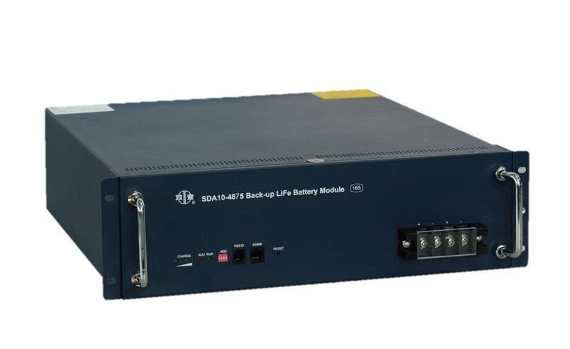 "Акумуляторна батарея SHOTO SDA10 48V/75Ah 19""LiFePo4 (SDA10-4875-15S) фото"