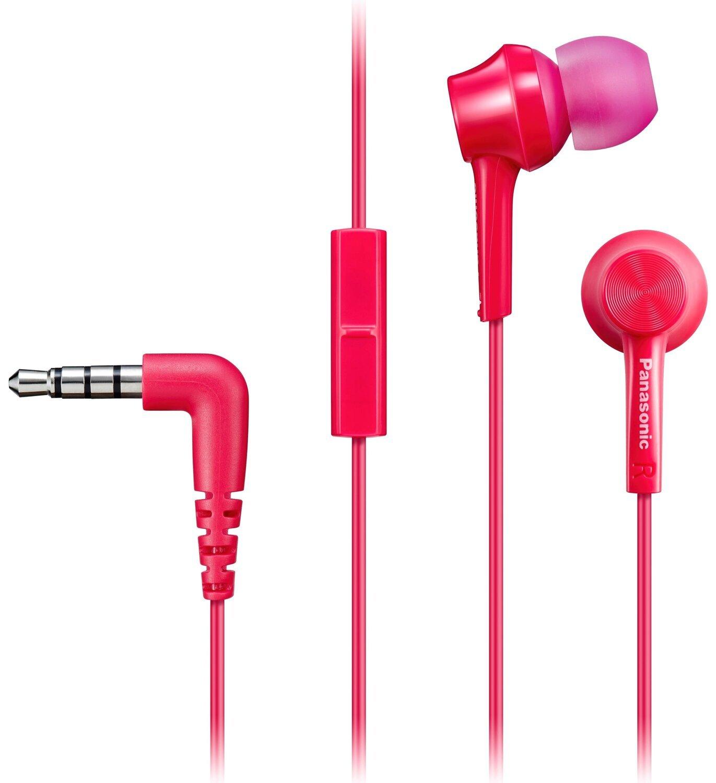 Навушники Panasonic RP-TCM115GCP Pink фото1
