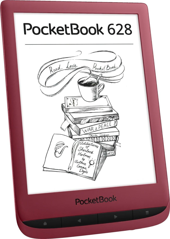 Електронна книга PocketBook 628 Ruby Red фото