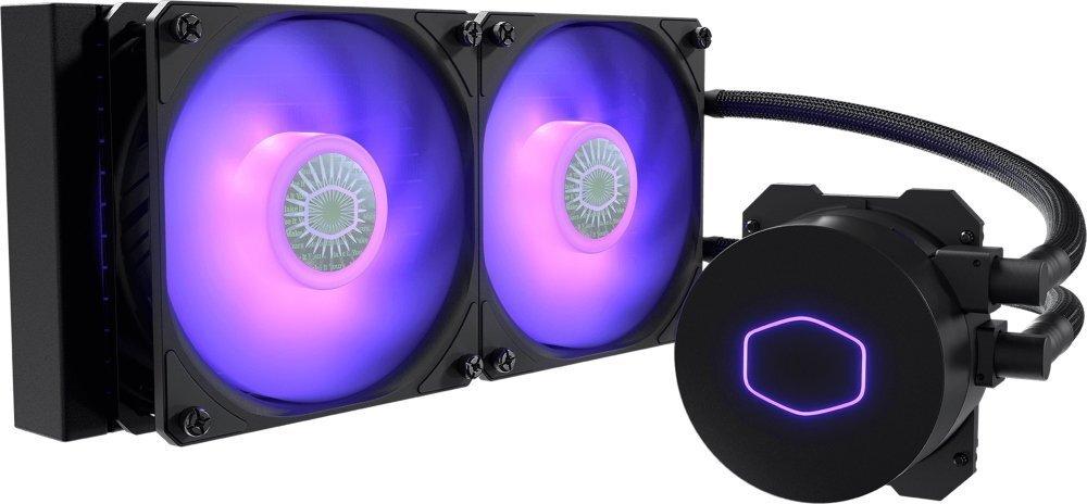Система жидкостного охлаждения Cooler Master MasterLiquid ML240L V2 RGB (MLW-D24M-A18PC-R2) фото