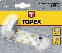 Магниты для кафельной плитки Topex, 4 шт.