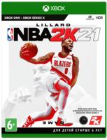 Игра NBA 2K21 (Xbox One, Английский язык)