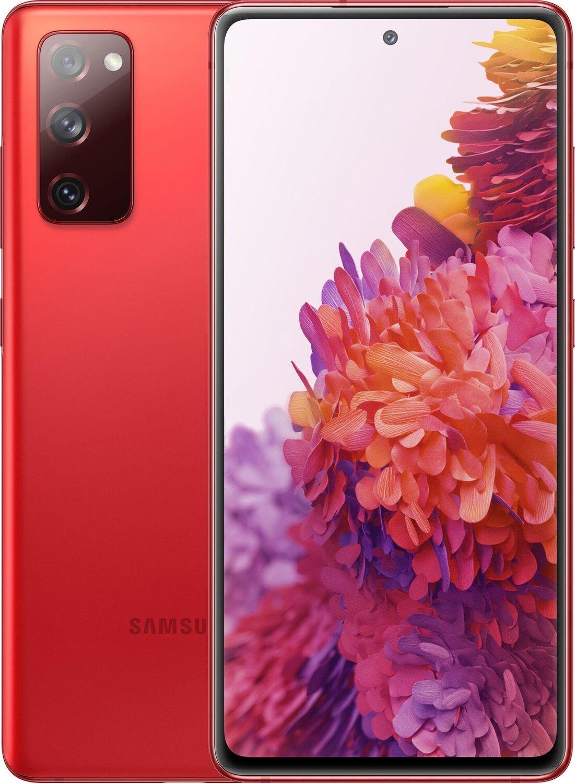 Смартфон Samsung Galaxy S20 FE Red фото 1