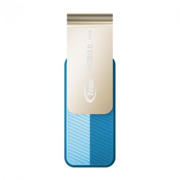 Накопичувач USB 3.2 Team 16GB C143 Blue (TC143316GL01) фото