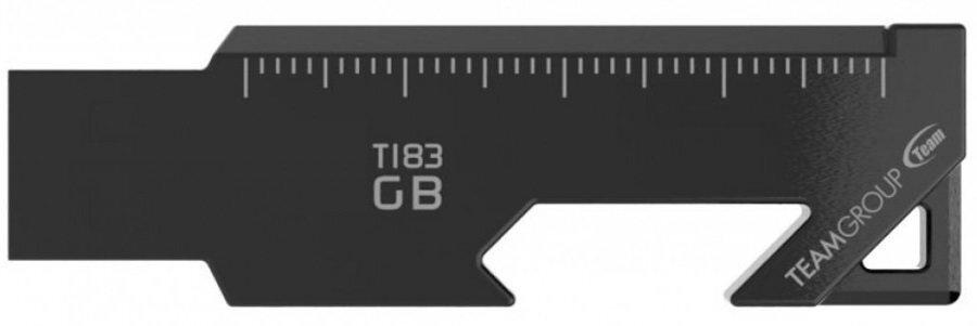 Накопичувач USB 3.2 Team 64GB T183 Black (TT183364GF01) фото