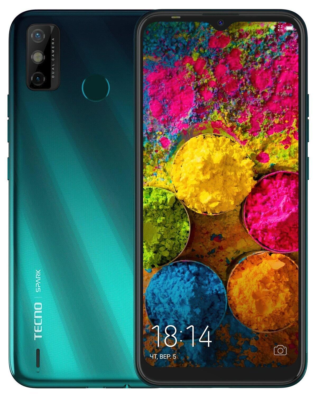 Смартфон TECNO Spark 6 Go 3/64Gb (KE5j) DS Ice Jadeite фото