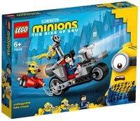 Конструктор LEGO Minions Нестримна гонитва на мотоциклі (75549)