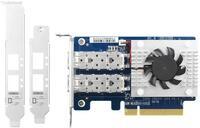 Сетевая карта QNAP Dual-port SFP+ 10GbE network expansion card PCIe Gen3 x8 (QXG-10G2SF-CX4)