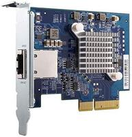 Сетевая карта QNAP Single-port (10Gbase-T) 10GbE Network Card PCIe Gen3 x4 (QXG-10G1T)