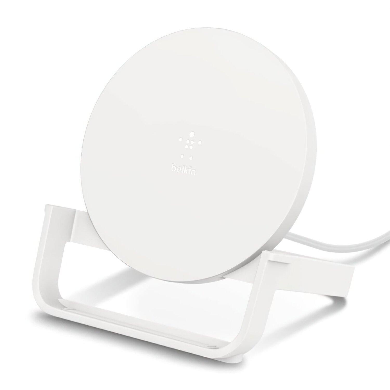 Бездротовий ЗУ Belkin Stand Wireless Charging Qi, 10W, white фото
