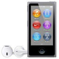 MP3-плеєр APPLE iPod nano 16GB Space Gray (7Gen) - 2013